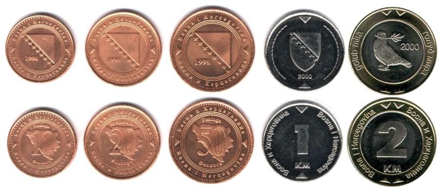 Moneda de Bosnia