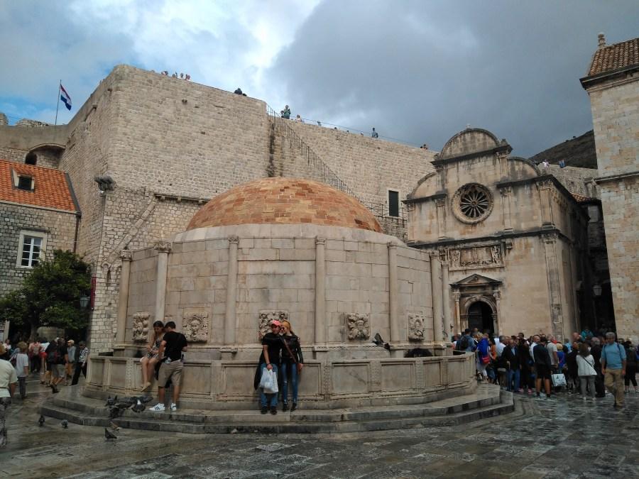 Qué ver en Dubrovnik. Fuente de Onofrio.