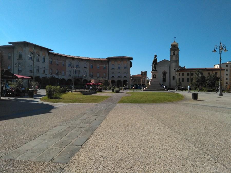 Piazza Vittorio Emanuele.