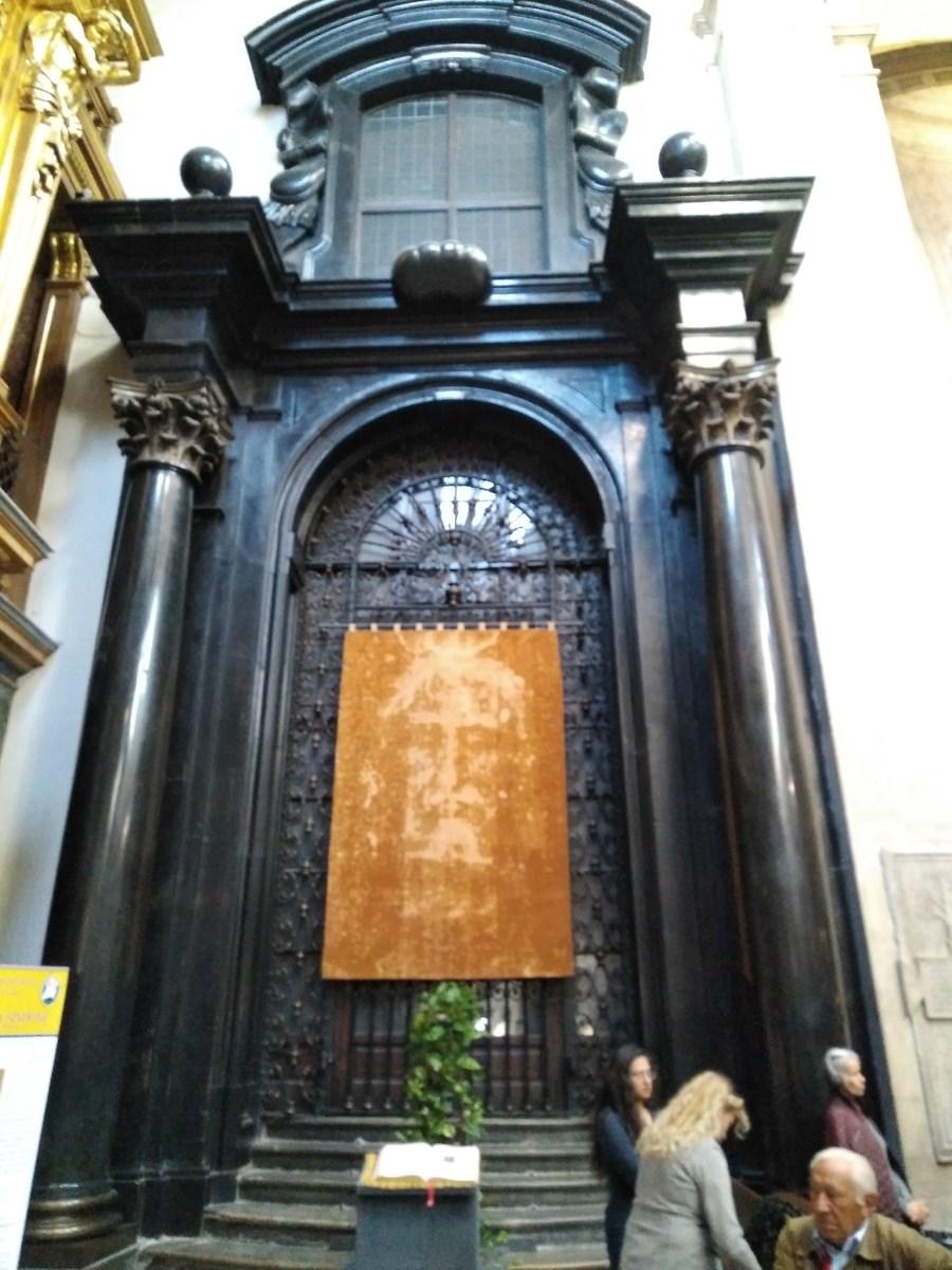 Sábana Santa de Turín, Italia.