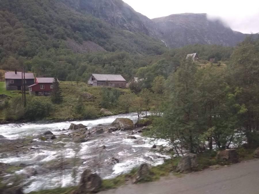 Tren de Flam, Noruega.
