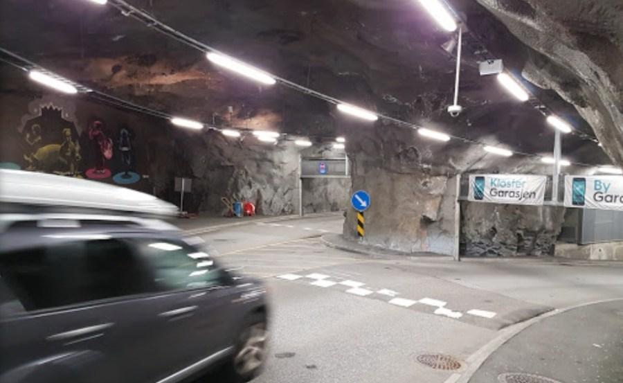 Aparcar en Bergen.