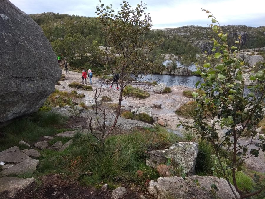 Ruta de Preikestolen. Noruega.