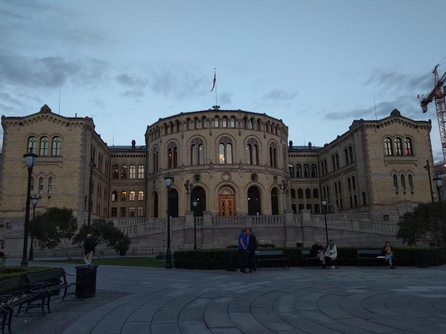Un día en Oslo. Noruega.