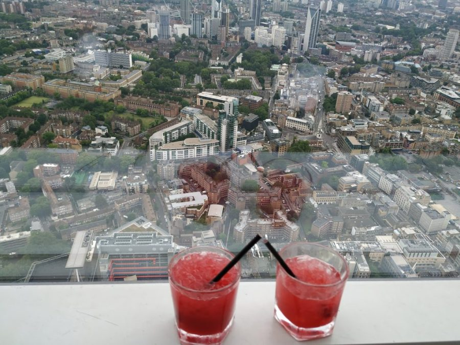 The Shard. The view from The Shard.