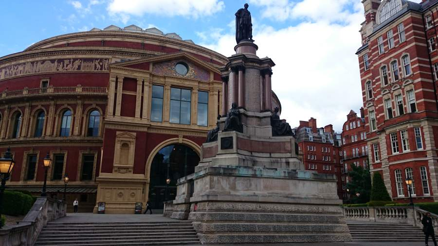 Royal Albert Hall.