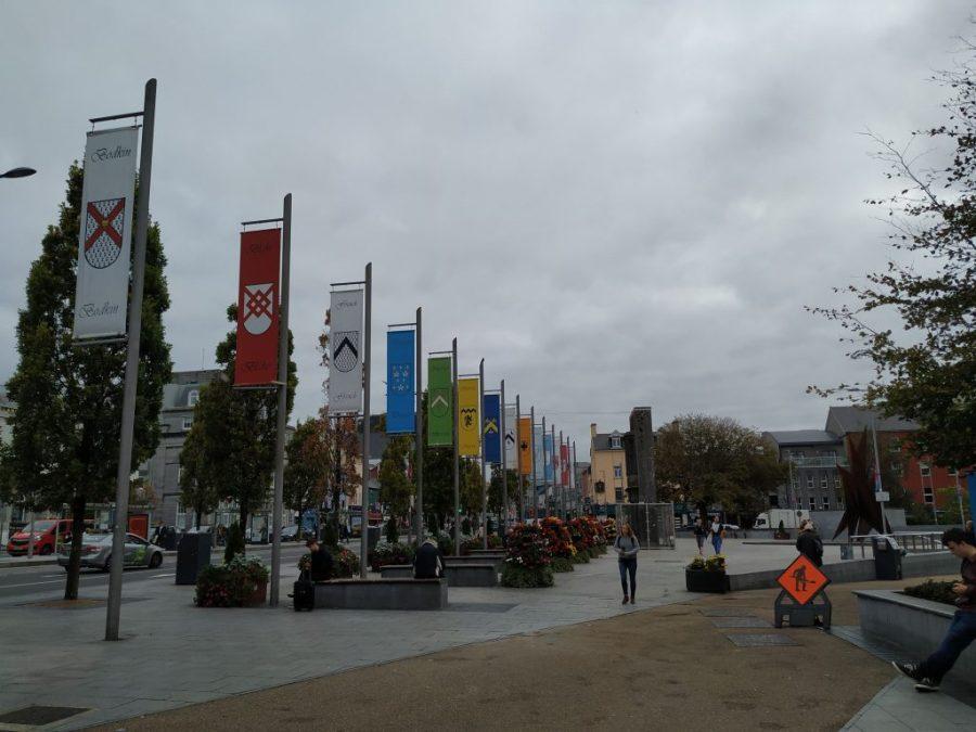 Plaza Eyre. Galway. Irlanda.