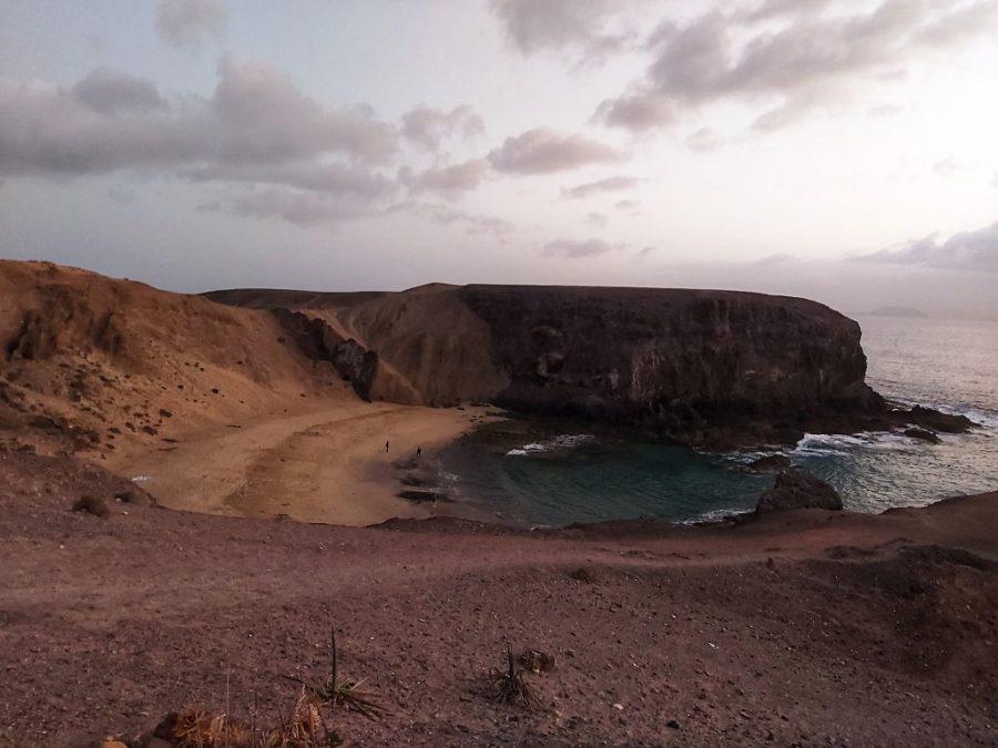 Mejores playas de Lanzarote. Playa de Papagayo.