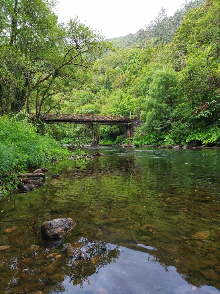 Puente de Santa Cristina. Fragas del Eume.