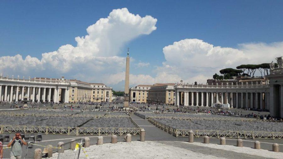 Plaza de San Pedro, El Vaticano.