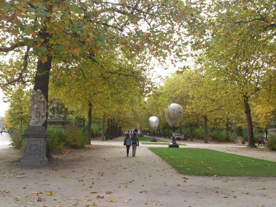 Qué ver en un día en Bruselas. Parque de Bruselas.