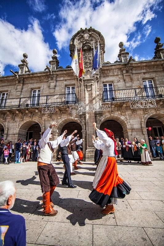 Fiestas importantes en Lugo. San Froilán.