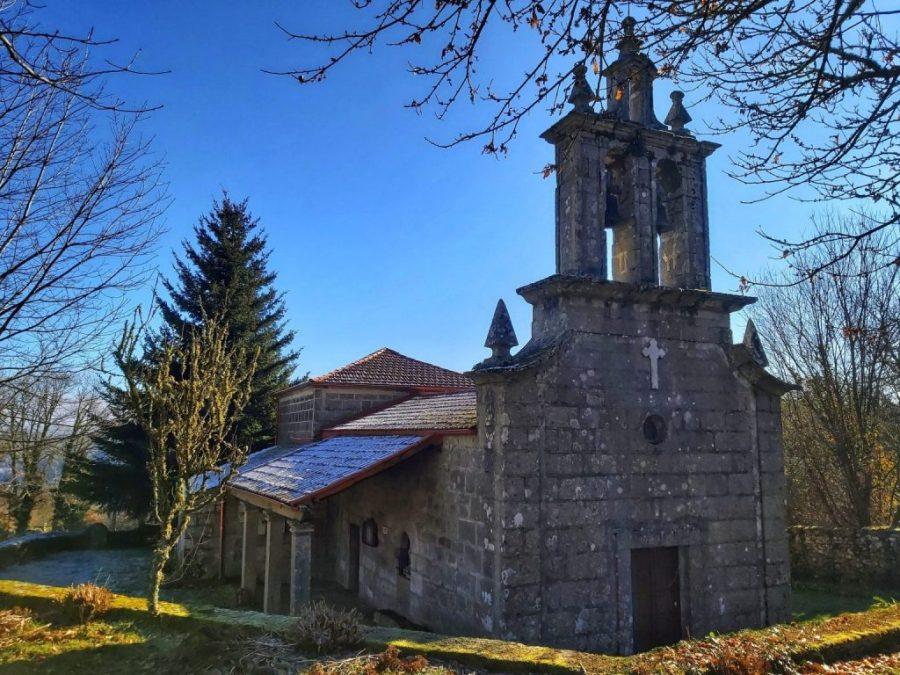 Iglesia de Forcas. Ribeira Sacra.