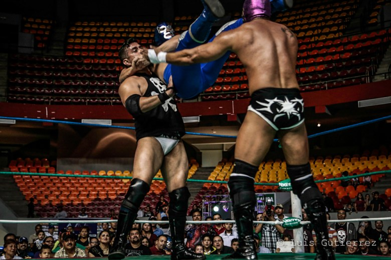 The Mexican wrestler Blue Demon Jr. Is the superhero that Mexico needs