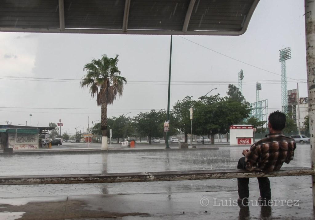 Nuevamente los Hermosillences tuvieron l oportunidad de ver y sentir la lluvia