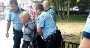 Trei organe arestează o femeie care traversa ilegal