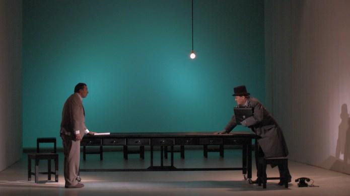 3._Ion_Grosu_si_George_Alexandru_in_Roman_teatral