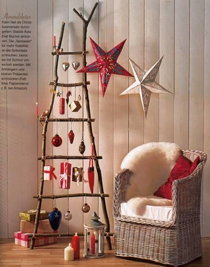 alternative-christmas-tree-ladder-tree