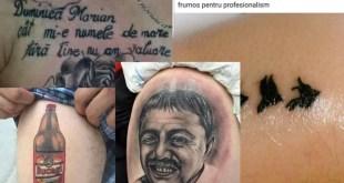 Cele mai %22 smechere%22 tatuaje romanesti