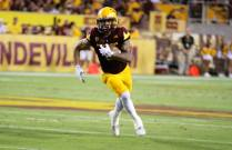Arizona State wide receiver D.J. Foster dashes up the open field. (Photo: Scotty Bara/WCSN)
