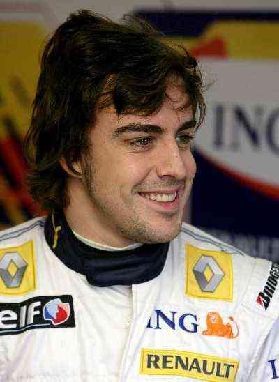 Balanced: Renault driver Fernando Alonso
