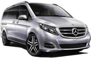 Mercedes V Class 7 Seater Luxury Executive Cars Hire London