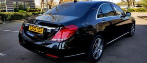 Mercedes S Class Chauffeur Car Hire with Driver