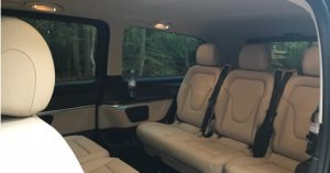 Mercedes V Class Interior 7 Seater MPV People Carrier