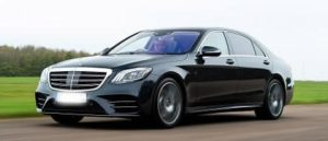 S Class Mercedes Hire with Driver for a Day