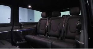 V Class Mercedes Interior 8 Seater MPV People Carrier