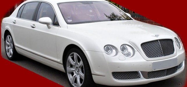 White-Bentley-Flying-Spur-Wedding-Cars-Hire
