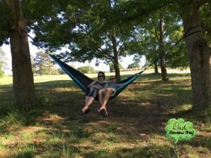 Live Infinitely Double Camping Hammock