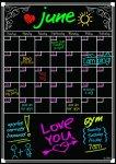 Detier Dry Erase Calendar Magnet