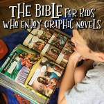 The Bible for kids who enjoy graphic novels