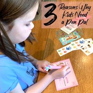 3 Reasons Why Kids Need a Pen Pal