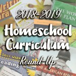 2018-2019 Homeschool Curriculum