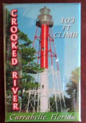 Crooked River Lighthouse Magnet