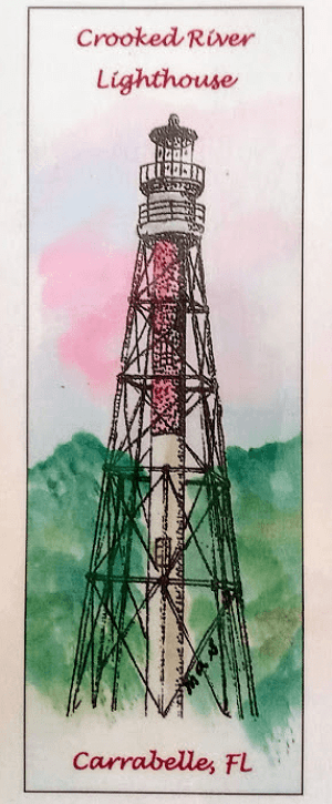 Crooked River Lighthouse Bookmark