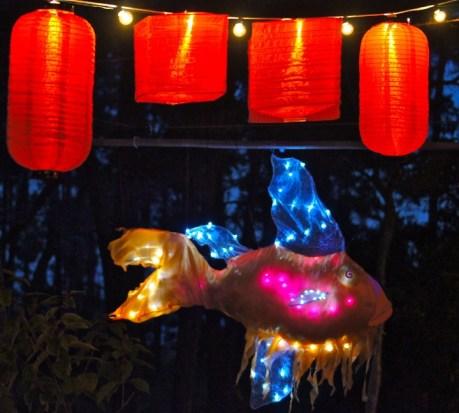 1 Fish and Orange Lanterns