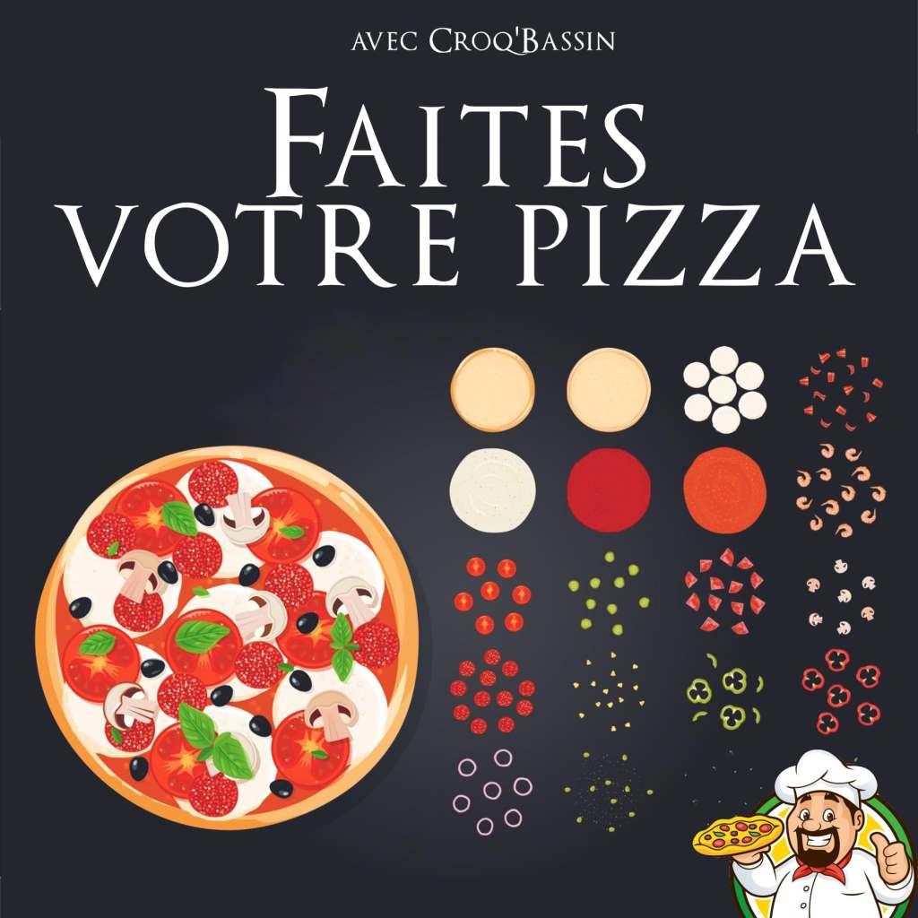 Faites votre Pizza sur mesure