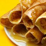 crepe au miel