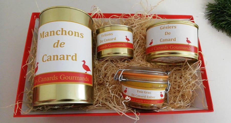 coffret standard canard gourmand
