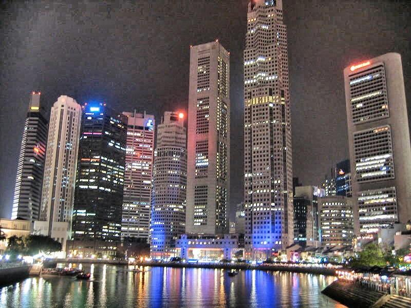 Singapore: It's like Miami. Only with a lot more Asians.