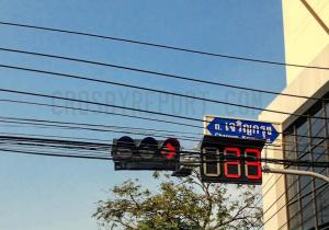 The wait signs in Bangkok have 3-digits