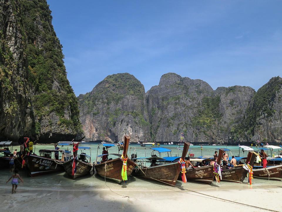 Phuket Thailand has a lot of boats