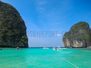 The green water of Phuket Thailand