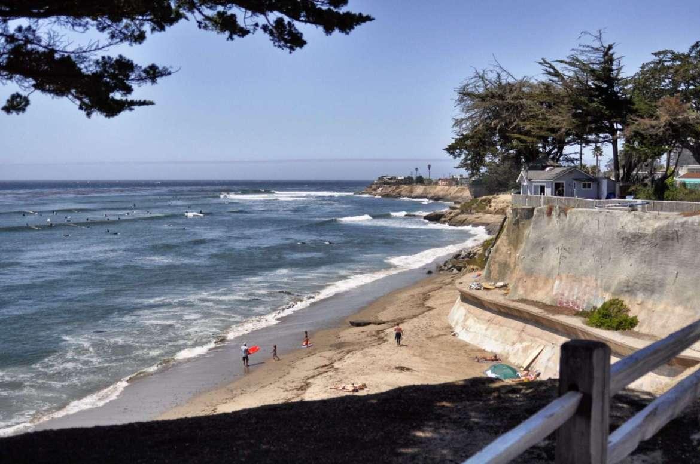 Santa Cruz California: It's as close as NorCal comes to having a real beach.