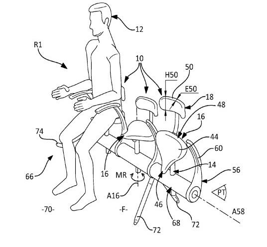 Airbus patents modern day mass torture device to dissuade low income travelers.