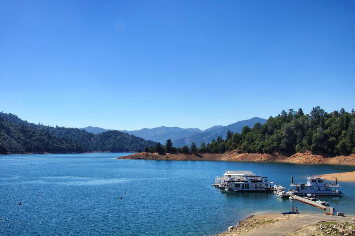 Redding California: It's close to a lot of other, better places to visit.