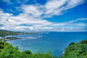 A bay near Tahiti
